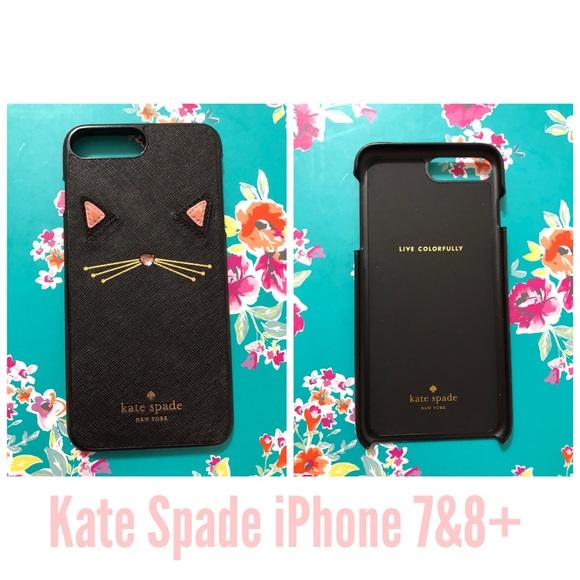 purchase cheap adaba fb90d Kate Spade Cat IPhone 7/8 Plus phone case